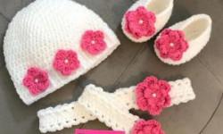 مدل پاپوش بافتنی نوزاد زیبا و جدید مخصوص زمستان 97