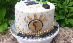 تزیین کیک خیلی ساده بسیار خوشمزه و ایده آل + عکس