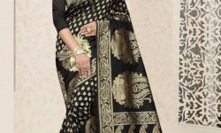 مدل لباس هندی با حریر 2018 با طرح های جذاب و بسیار زیبا (2)