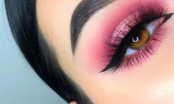 جدیدترین ارایش چشم و ابرو دخترانه در رنگ های شاد