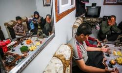 تحویل سال نو در مناطق زلزله زده سر پل ذهاب   ۰۱ فروردين ۱۳۹۷