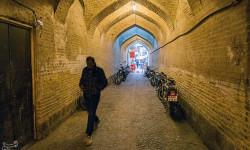 نمای زیبا از بازار وکیل  شیراز