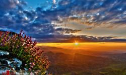 تصاویری زیبا از جاذبه های طبیعی و تاریخی کلات نادری در فصل بهار