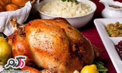 تهیه مرغ بریان مخصوص بدون فر