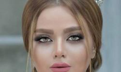 20 عکس مدل آرایش عروس ایرانی جدید 2018 97