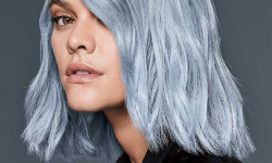 فرمول کامل تهیه انواع رنگ مو سفید ـ یخی و آبی شیک (عکس)