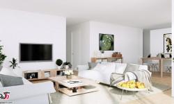 دکوراسیون داخلی منزل به سبک سوئدی + عکس