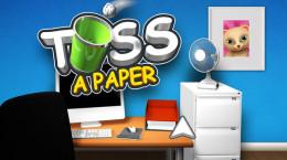 بازی پرتاب کاغذ