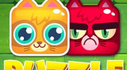 بازی پازل بچه گربه های شاد
