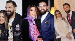 ویدیوی جنجالی چاقوکشی محسن افشانی و همسرش سویل
