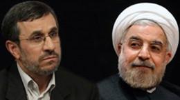 دعوت روحانی توسط احمدی نژاد به مناظره تلویزیونی