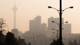 تداوم آلودگی هوای تهران + شاخص آلودگی