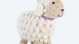 آموزش بافت عروسک بره ناقلا با هنر قلاب بافی به صورت گام به گام
