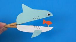 آموزشی طلایی جهت ساخت کاردستی نهنگ و ماهی با مواد بازیافتی