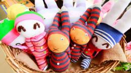 آموزش ساخت ۷ مدل عروسک زیبا با جوراب