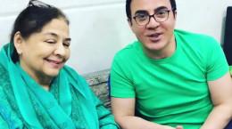 فیلم دیدار عمو پورنگ با فریده جلال هنرپیشه معروف بالیوود