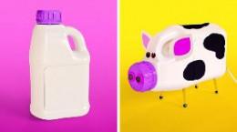 ۴۳ ایده خلاقانه با بطریهای پلاستیکی