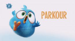 انیمیشن پرندگان خشمگین آبی (پارکور)