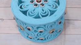 آموزش ساخت ۵ مدل جعبه جواهرات زیبا با کاموا و روزنامه