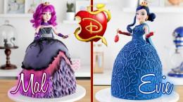 آموزش تزئین و درست کردن دو مدل کیک عروسک باربی