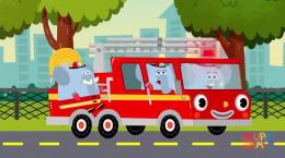کارتون موزیکال و ترانه کودکانه با موضوع آتشنشانی
