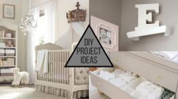 خلاقیت در تزیین اتاق نوزاد برای سیسمونی با وسایل ساده