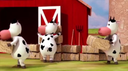 کارتون موزیکال پیرمرد مهربون مزرعه داره