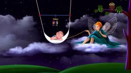 کلیپ موسیقی آرامش بخش برای خوابیدن کودکان