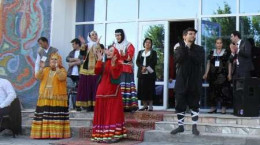 نمایش خورتاب در چهارمین جشنواره چادر خیال تاجیکستان اجرای موفقی داشت