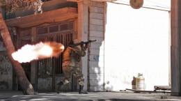 (تصاویر) حمله به کنسولگری هند در هرات