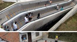 مشهور ترین پله برقیهای دنیا - تصاویر