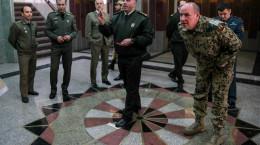 تصاویر مسابقات تیراندازی و پرتاب دارت وابستگان نظامی در دانشگاه افسری