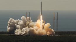 تصاویر انفجار محموله فضایی لحظاتی پس از پرتاب