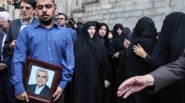 تصاویر تشییع سرکنسول ایران در مرز ترکمنستان از جانباختگان فاجعه منا