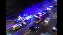 تصاویر حمله با چاقو به مردم در لندن