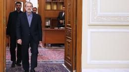 تصاویر دیدار رییس جمهور اسلوونی با علی لاریجانی