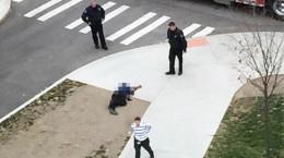 تصاویر چاقو کشی در دانشگاه اوهایو