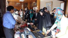 تصاویر بازارچه خیریه به یاد آتش نشانان فداکار ایرانی در توکیو