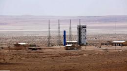 تصاویر افتتاح پایگاه ملی فضایی امامخمینی (ره) با پرتاب ماهوارهبر سیمرغ