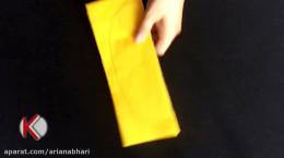 ساخت آناناس با کاغذ، برای دکور خانه (فیلم)