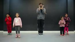 آموزش ورزش موزیکال برای کودکان ۳ تا ۷ ساله