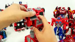 40 ماشین اسباب بازی تبدیل شوندگان ربات