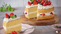 طرز تهیه کیک شیفون خانگی با نکات حرفه ای درست کردن