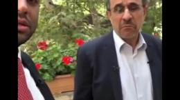 ماجرای کروات زدن احمدی نژاد