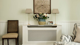 پنهان کردن شوفاژ و رادیاتور با ترفندهای خانه داری