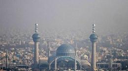 وضعیت آلودگی هوای اصفهان و تعطیلی مدارس