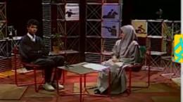 فیلم اولین اجرای فردوسی پور در تلویزیون در سال 1372