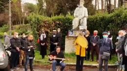 فیلم مراسم یادبود استاد شجریان در ایتالیا
