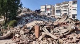 زلزله شدید امروز ترکیه / تعداد کشته شدگان و میزان خسارات زلزله ازمیر ترکیه