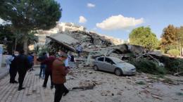 تصاویری هولناک از زلزله 6 ریشتری ازمیر ترکیه